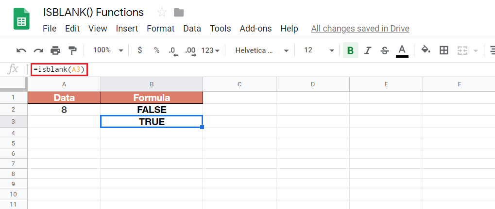 The Ultimate Guide to Using ISBLANK Functions in Google Sheets