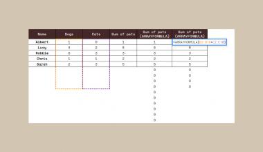 ARRAYFORMULA Function in Google Sheets
