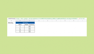 Get Dynamic Sheet Names in Importrange in Google Sheets