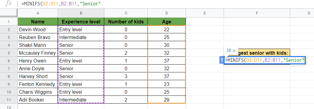 Adding Criteria Variable
