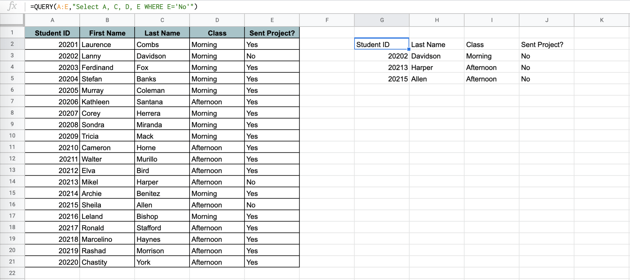Find the Highest N Values in Each Group in Google Sheets