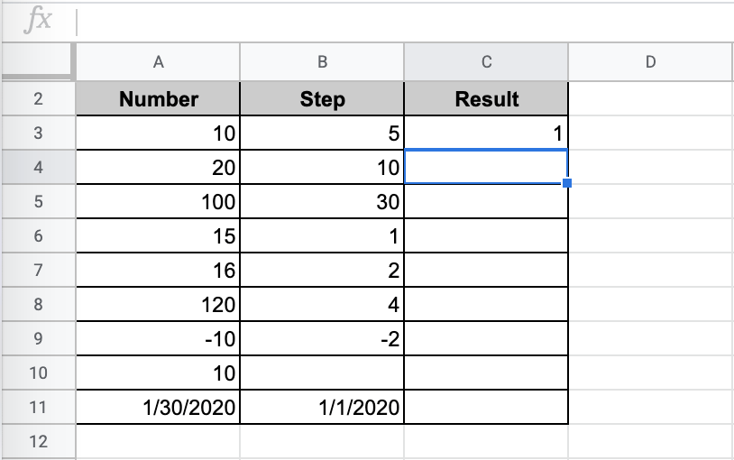 Output Result