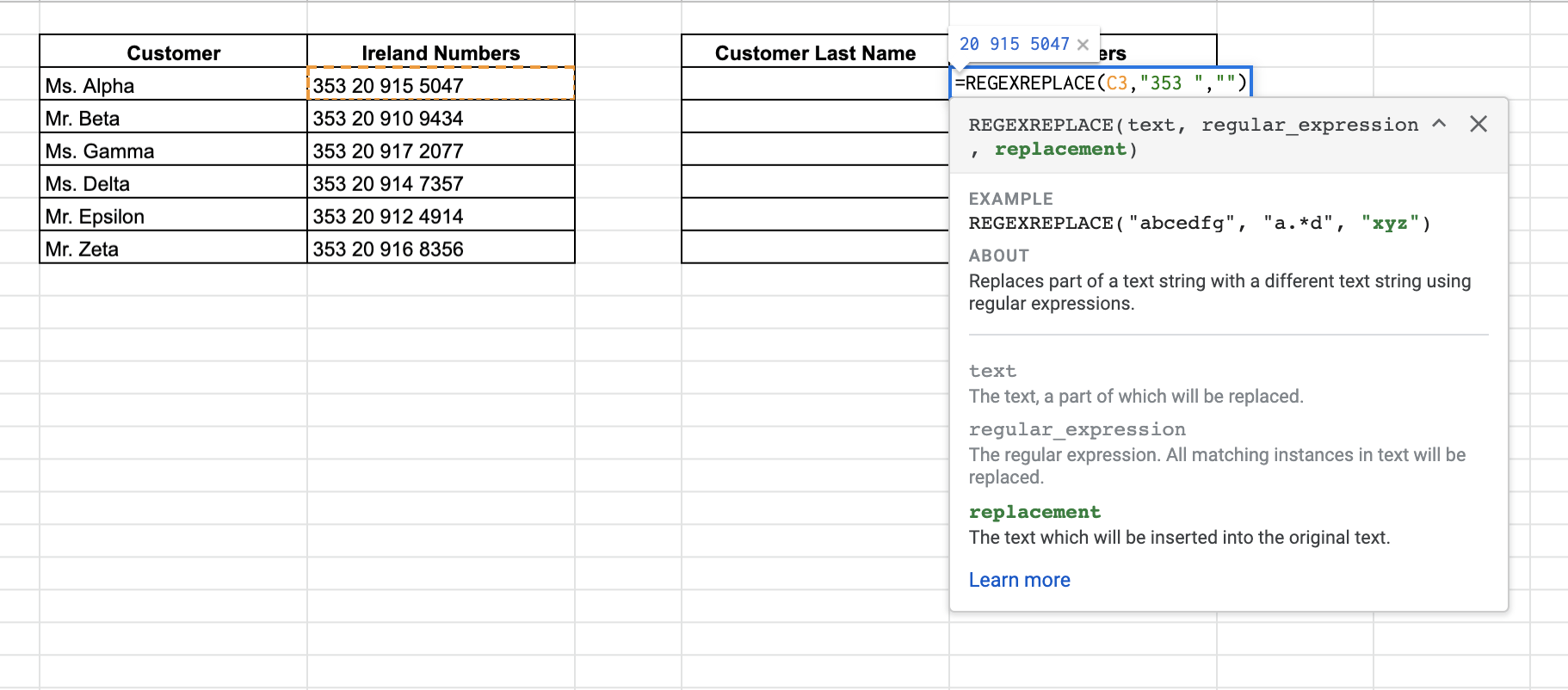 How to Remove Extra Characters from Strings in Google Sheets