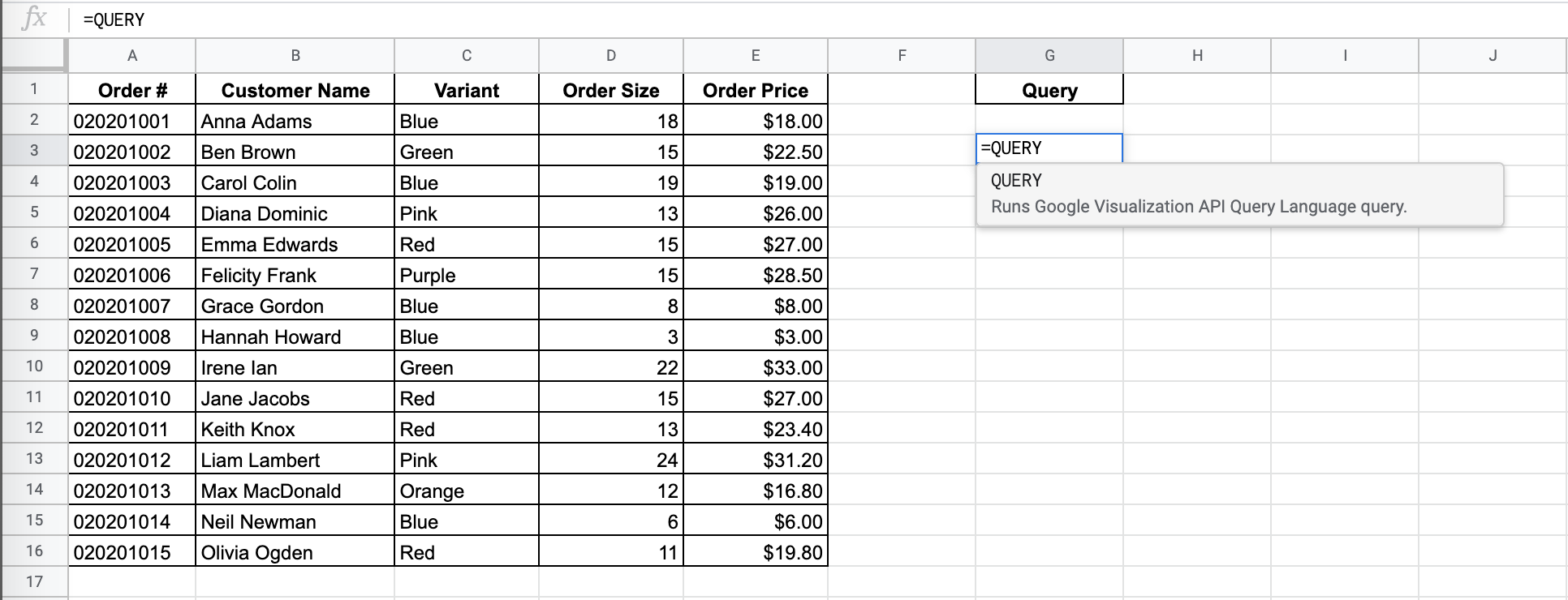 How to Limit Number of Rows in Google Sheets Query