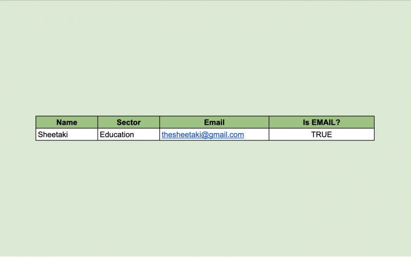 How to Use the ISEMAIL Function in Google Sheets