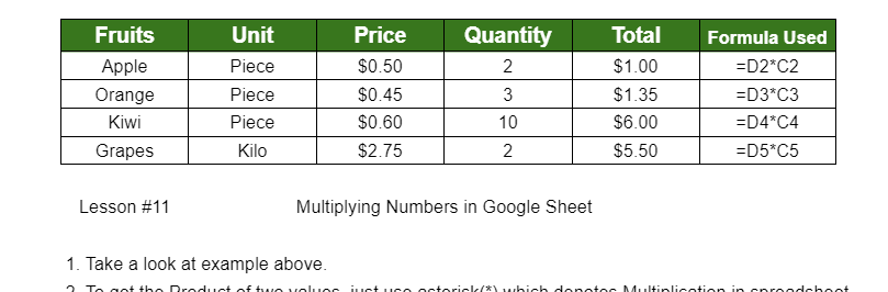 Print Column and Row Headings in Google Sheets