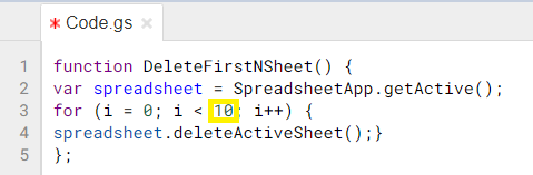 How to Delete Multiple Sheets in Google Sheets