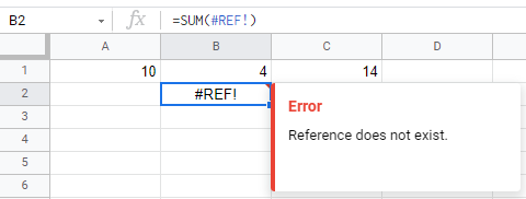 Formula Parse Error in Google Sheets? Here's The Fix!