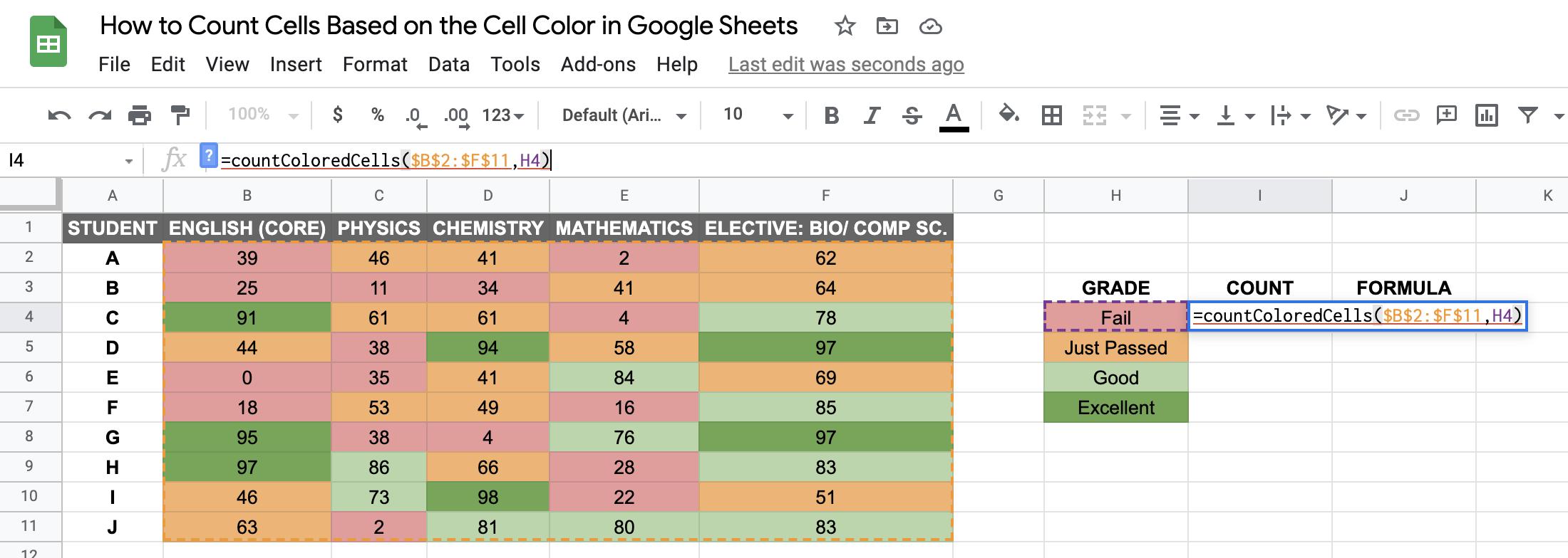 Count by Color walkthrough