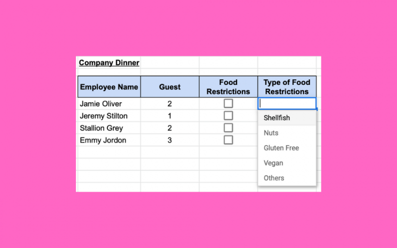 How to Restrict Data in Google Sheets with Data Validation